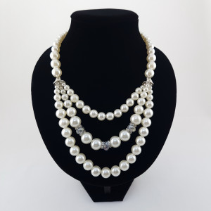 Colier Shiny Pearls